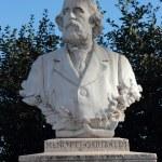 Постер, плакат: Menotti Garibaldi statue in Janiculum gardens Rome