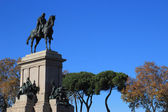 Garibaldi memorial — Stock Photo