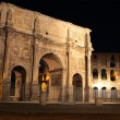 Arch of Constantine  at night — Stock Photo