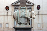 Minerva Elephant in Rome — Stock Photo