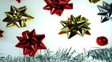 Festive season animation — Stock Video