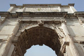 Arch of Titus detail, Rome — Stock Photo