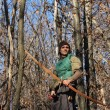 Longbow man — Stock Photo #18644771