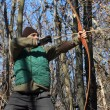 Longbow man — Stock Photo