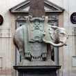 Minerva Elephant in Rome - Stock Photo