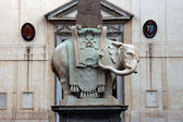 Minerva Elephant in Rome — Photo