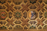 Baroque ceiling in Santa Maria in Trastevere, Rome — Stock Photo