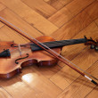 Stock Photo: Violin and bow