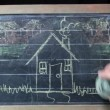 Stock Video: Chalkboard