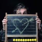 Romantic chalkboard — Stock Photo #21620319