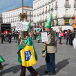 Madrid Protests Against Bankia — Stock Photo