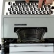 Stock Video: Mtyping on typewriter