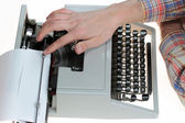 Old type writer — Foto de Stock