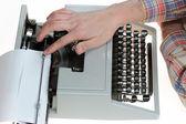 Old type writer — Stock Photo