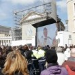 Pope Francis inauguration mass - March 19, 2013 in Rome. — Stock Video