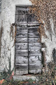 Oratorio di San Igino, door — Stock Photo