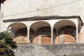 Chrch dans roccapietra, italie — Photo