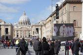 папа римский установка — Стоковое фото