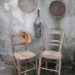 Stock Photo: Shabby interior