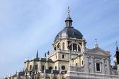アルムデナ大聖堂 — ストック写真