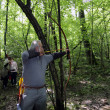 Stock Photo: Archery competition