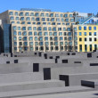 Stock Photo: Holocaust Memorial (German: Holocaust-Mahnmal)
