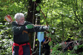 Archery competition — Stock Photo