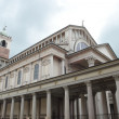 Stock Photo: Neoclassical portico and colonnade in Novara