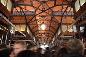 Crowd in the market — Stock Photo