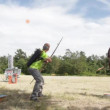 Stock Video: Archery shooting