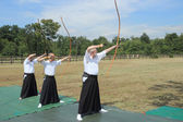Kyudo archery — Stock Photo