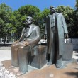 Постер, плакат: Marx and Engels statues