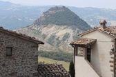 Italienische ländliche landschaft romagna — Stockfoto