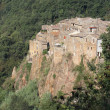 Calcata ancient village — Stock Photo