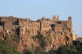Calcata ancient village — Stock Photo