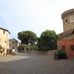 Giulio II Castle in Ostia, Rome, Italy — Stock Photo