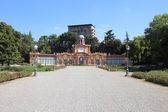 Estense Gardens in Modena — Stock Photo