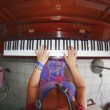 Pianist at home — Stock Photo #31303021