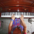 Stock Photo: Pianist at home