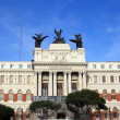 Ministry of Agriculture Palace in Madrid, Spain — Stock Photo