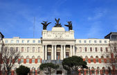 Ministry of Agriculture Palace in Madrid, Spain — 图库照片