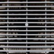 Air conditioning grille — Stock Video