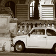 Fiat 500 in Rome — Stock Photo #35064075