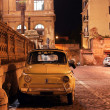Fiat 500 in Rome — Stock Photo