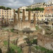 Largo Argentina in Rome — Stock Photo