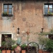 Stock Photo: Old building in Trastevere, Rome