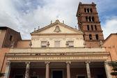 церковь святой сесилии в риме — Стоковое фото