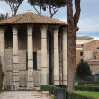 Temple of Vesta in Rome — Stock Photo