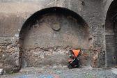 Abandoned stroller — Foto Stock