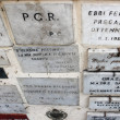 Ex- voto in Trastevere, Rome, Italy — Stock Photo